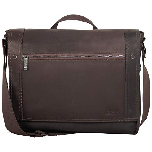 Kenneth Cole Reaction Men's Mess Essentials' Colombian Leather Business 15.6