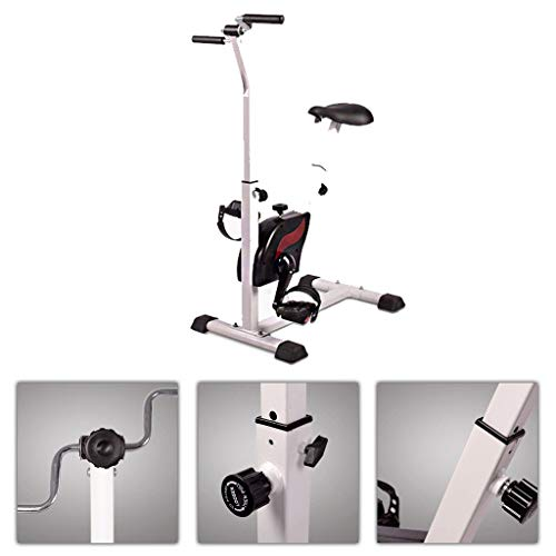Qazxsw Exercise Bike/Rehabilitation Exercise Bike for The Elderly/Bicycle for The Elderly/Home Fitness Equipment/Indoor Spinning Bike/Best Gift for The Elderly,White,6545108cm