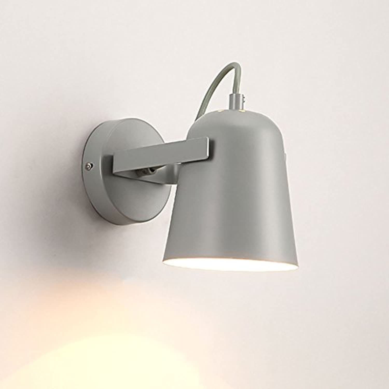 &Wohnzimmer Flur Schlafzimmer Wandleuchte Moderne LED-Wandleuchte, Persnlichkeit Treppen Schlafzimmer Nacht Gang Korridor Wandleuchte &Kabellose Wandleuchte (Farbe   D)