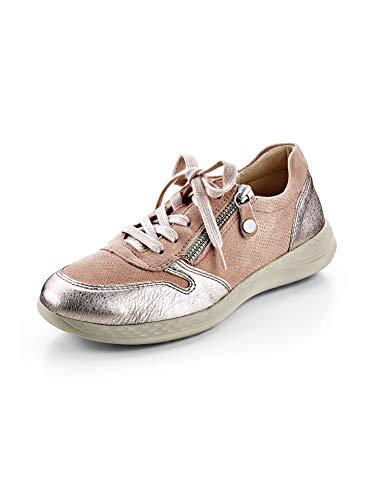 Avena Damen Hallux-Sneaker Superbequem Rosé Gr. 38.5