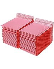 Poly Bubble Mailers för att skicka självtätning Sakura Pink Bulk Lined Väskor Kuvert (Color : 15x18cm)