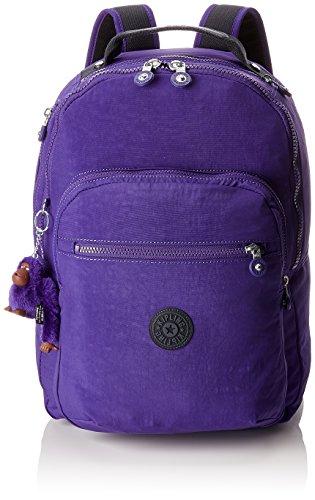 Kipling CLAS SEOUL Mochila escolar, 45 cm, 25 litros, Morado (Summer Purple)