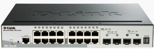 D-Link DGS-1510-20 - SmartPro DGS-1510-20 (20-Port) Gigabit Stackable Switch