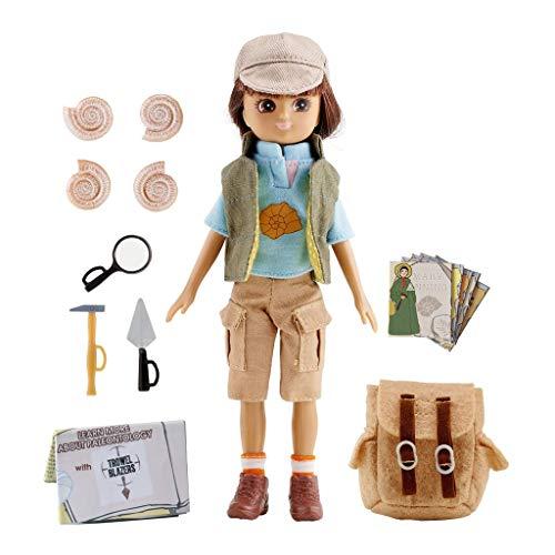 Lottie Puppe LT053 Fossil Hunter - Puppen Zubehör Kleidung Puppenhaus Spieleset - ab 3 Jahren