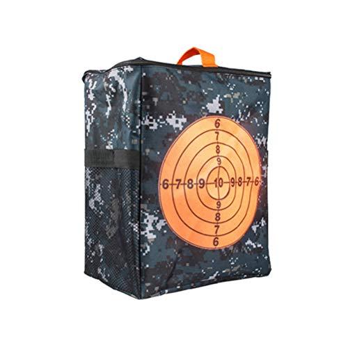 TOYANDONA Nerf Tasche Zieltasche Zielscheibe Tasche Aufbewahrungstasche für Gun N Strike Elite Serie Darts Ziel Bogenschießen Armbrust Nerf Zubehör