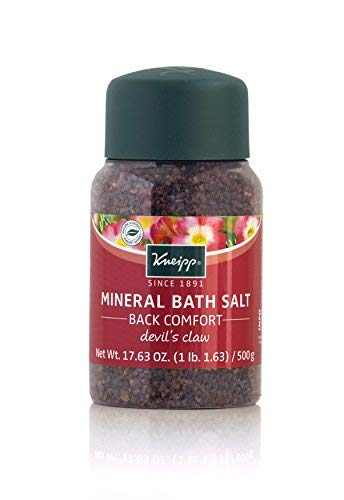 Kneipp Mineral Bath Salt Back Comfort Devils Claw, 17.63 oz