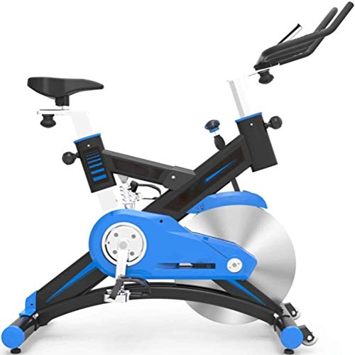 ZGQ Spinning Cubierta de Bicicletas, Carga máxima de 125Kg / Silencio Bicicleta estática/Cubierta la pérdida de Peso de Bicicletas Equipo de la Aptitud, Azul, Equipo de Gimnasio Casa