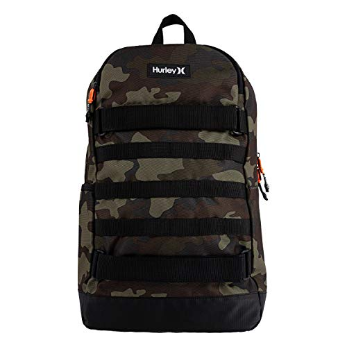 Hurley Kids' One and Only Backpack, Camo/Black, Large