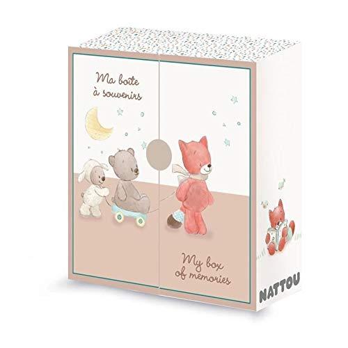 NATTOU Boîte à Souvenirs Multicolore