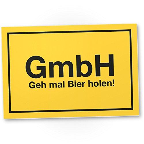 DankeDir! GmbH - GEH mal Bier Holen, lustige Geschenkidee Geburtstagsgeschenk Bester Freund/Sauf-Kumpel, Kleines Geschenk Männer, Mallorca-Party Zubehör, Deko Trinkspiele