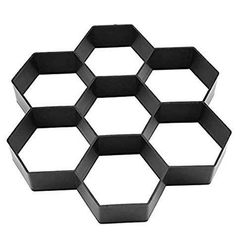 ZHOUGTRY Molde de pavimentación para construcción de adoquines de imitación de piedra de color de suelo de baldosas de jardín