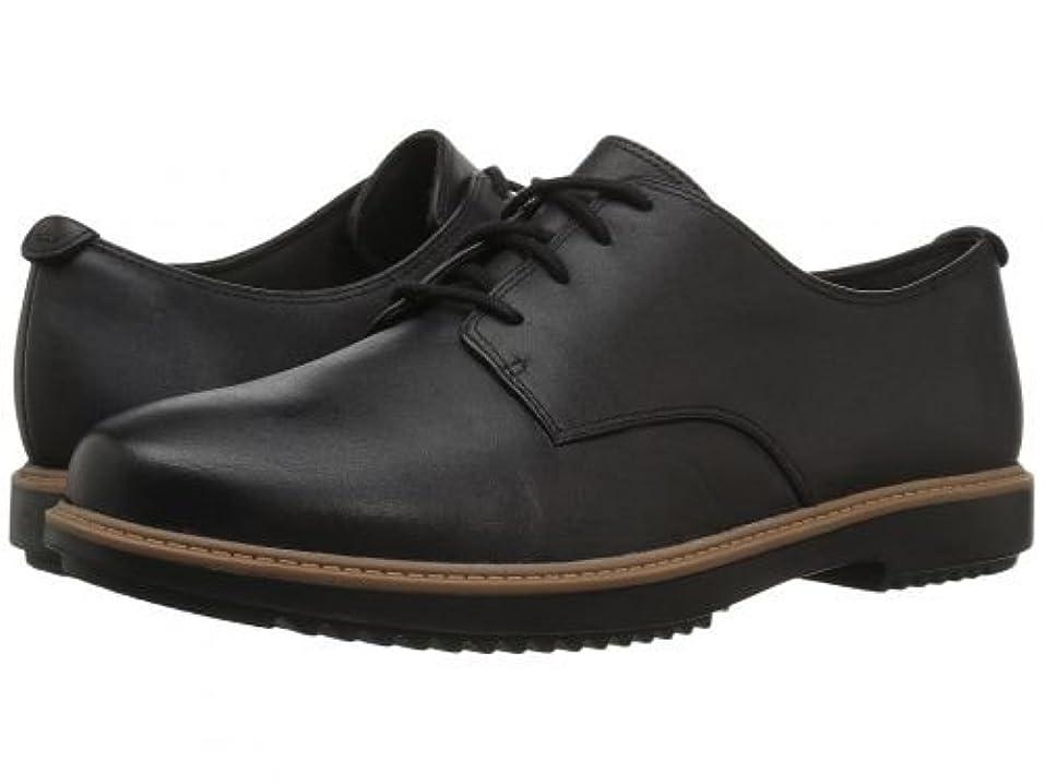 かろうじてで干ばつClarks(クラークス) レディース 女性用 シューズ 靴 オックスフォード 紳士靴 通勤靴 Raisie Bloom - Black Leather [並行輸入品]