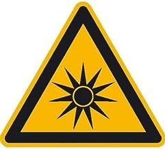 Waarschuwing voor optische straling waarschuwingsplaat, zelfkl. Folie, grootte 20 cm