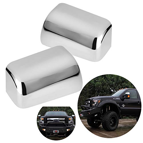 Triple Chrome Plated Mirror Cover for 2008-2016 Ford Super Duty F250 F350 F450...