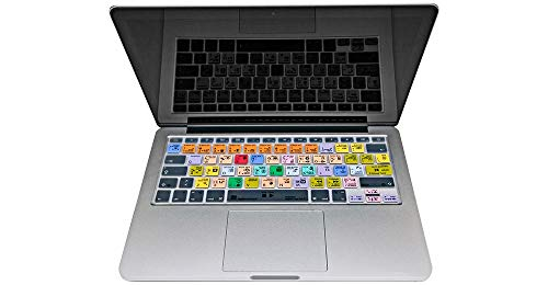 LogicKeyboard MacBook Keyboard Cover Compatible with Logic Pro X - Part: LS-LOGXP2-MBUC-US