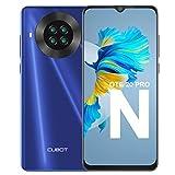 Teléfono Móvil Libre, CUBOT Note 20 Pro Smartphone 4G Android 10.0 Dual SIM 6,5 Pulgadas 6GB RAM+128GB ROM 4200mAh Cámara cuádruple de 20MP Face ID, NFC, GPS WiFi, Helio P60, Octa-Core, Azul