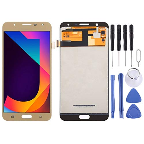 Pantalla LCD para teléfonos móviles Y TFT Material de la Pantalla LCD y digitalizador Asamblea Completa for Galaxy Neo J7 / J701, J7 Nxt, J7 Core, J701F / DS, J701M (Oro) (Color : Blanco)
