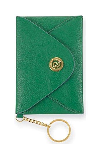 Mud Pie Women's Fashion Handbag Envelope Wallet Clutch 812071 (Green)