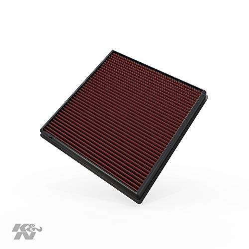 K&N Engine Air Filter: High Performance, Premium, Washable, Replacement Filter: 2008-2019 BMW L6 3.0L (640i, X6, X5, X4, X3, 535i, 740i, ActiveHybrid), 33-2428