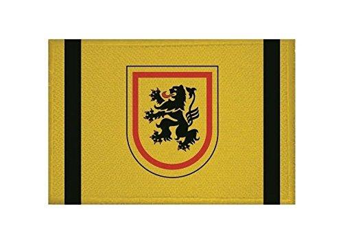 U24 Aufnäher Landkreis Meißen Fahne Flagge Aufbügler Patch 9 x 6 cm