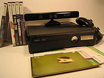 Xbox 360 ESPN Issue with Kinect. Wireless Controller, 5 CD-Roms and all Wiring and Instructions by Video Console