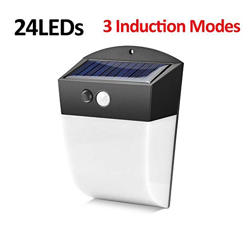 Ledlamp op zonne-energie voor buiten, PIR-bewegingsmelder, led, waterdicht, IP65 focos, zonne-energie, led, voor buiten, gratis luces