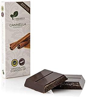 チョカッルーア モディカ チョコレート シナモン (100g) [イタリア シチリア] | CIOKARRUA MODICA CHOCOLATE IGP | ギフト プレゼント カカオ50% ヴィーガン 板チョコ スイーツ ポリフェノール