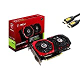 MSI GeForce GTX 1050 Ti Graphics Card 4GB 128-Bit GDDR5 DirectX 12 PCI Express 3.0 x16, HDCP Ready TORX 2.0 Fan, DisplayPort x1(v1.4a) HDMI x1 Dual-Link DVI-D x1 w/ Mytrix HDMI Cable