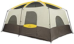 Browning Camping Big Horn Two-Room Tent, Black/Orange