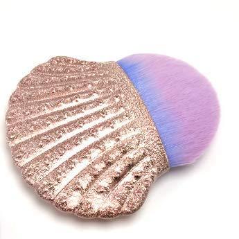 Shell Shape Foundation Blush Brush Beauty Outils De Maquillage Dégradé Brosses De Maquillage Multifonctionnelles Portables
