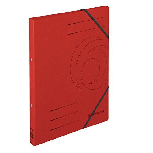 Herlitz 11255460Cardboard Red Folder–Folders (Cardboard, Red, A4, Portrait, 2.5cm, 1.4cm)