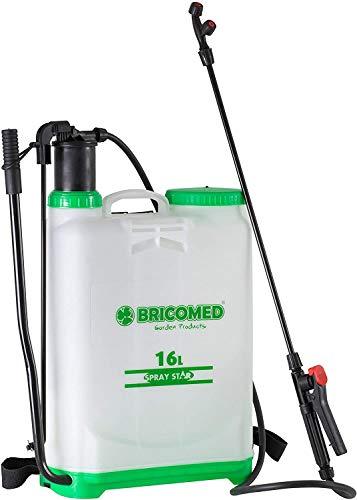 Todo Cultivo Pulverizador Mochila a presión de 16 litros, para tratamientos de herbicida, fungicida, insecticida o desindectantes