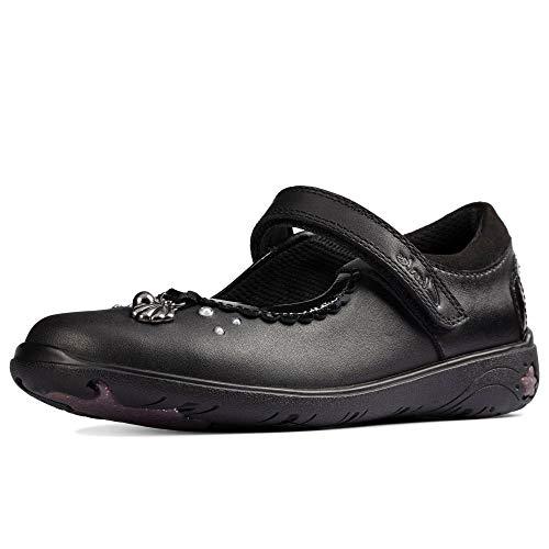 Clarks Sea Shimmer K Girls School Shoes