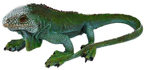 Echse Leguan 25 x 14 cm Reptil Drache Terrarium Tier Figur Deko GOR 6139