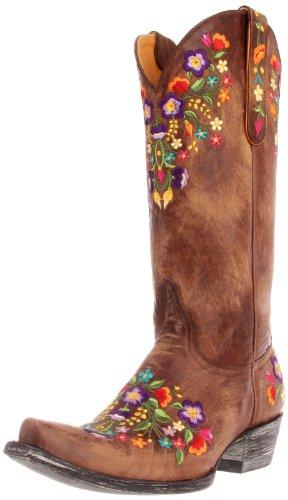 Old Gringo Women's Sora Western Boot,Brass,9 B US