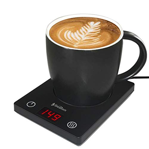 Coffee Mug Warmer for desk Cup warmer with automatic shut off for Office Home Use, Electric Cup Beverage Plate for Candle, Water, Cocoa, Milk with...