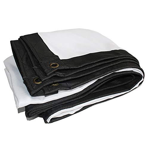 ANUO Lona Impermeable de Protección Universal Pantalla De Proyección Portátil De 60 Pulgadas For La Película De Cine En Casa Cortina De Juego Oficina Funda Protectora (Color : White, Size : 16:9)