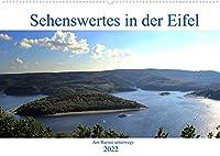 Sehenswertes in der Eifel - Am Rursee unterwegs (Wandkalender 2022 DIN A2 quer): Einmal um den Rursee (Monatskalender, 14 Seiten )