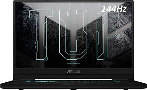 ASUS TUF Gaming Laptop, 15.6' 144Hz FHD, Intel Core i7-11370H Up to 4.80 GHz, NVIDIA GeForce RTX 3060,Thunderbolt 4,Backlit Keyboard, Windows 10, 16GB RAM | 512GB PCIe SSD | WOOV 32G SD