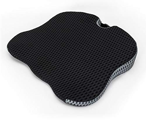 DefactoFlex Memory Foam Wedge Seat Cushion - Car and Truck Seat Cushion - Coccyx and Sciatica Pillow