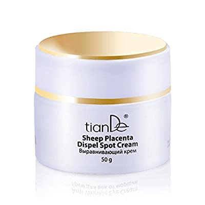 Pigmentation Unifying Face Cream, Sheep Placenta Based, TianDe 10302, 1.5ounce, 50gram