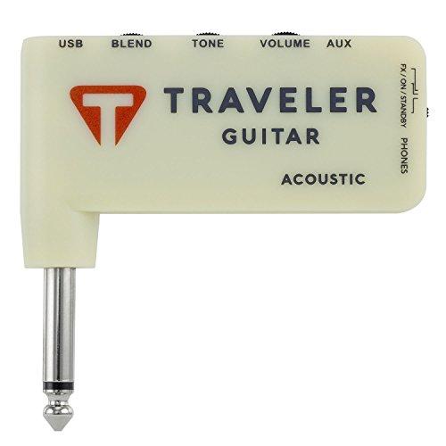 Traveler Guitar, 0-String TGA-1A Acoustic Headphone amp