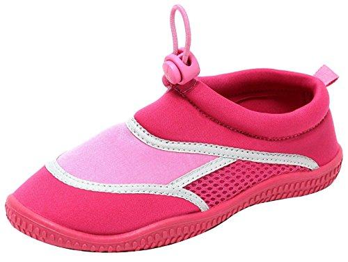 ZAPATO EUROPE Mädchen Kinder Neopren Aquaschuhe Badeschuhe rosa (30/31)