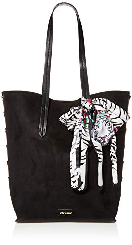 Betsey Johnson Heart to Hold Tote, Black