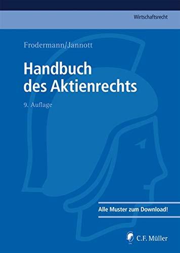 Handbuch des Aktienrechts (C.F. Müller Wirtschaftsrecht)