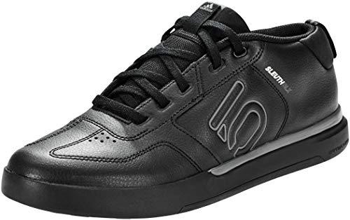 adidas Herren Sleuth DLX Mid Freizeitschuhe und Sportbekleidung, Gray Core Black Gray Five Scarlet, 42 2/3 EU