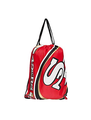 Forever Collectibles Chicago Bulls cropped LOGO Drawstring Backpack GYMSACK NBA