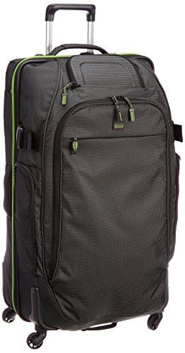 Stratic Koffer Relax Mover L, 81 cm, Black/Green
