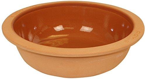 Romertopf by Reston Lloyd Natural Glazed Round Bread Pan, 12-Inch