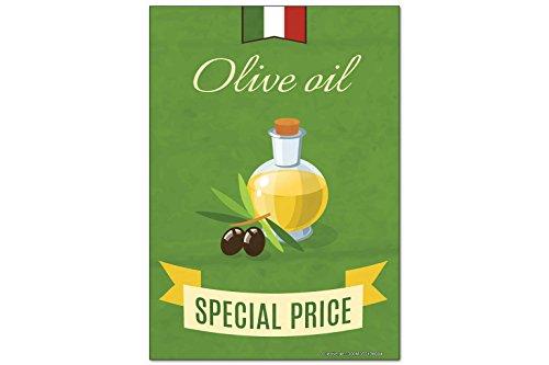 Fridge Magnet Cuisine Huile d'olive